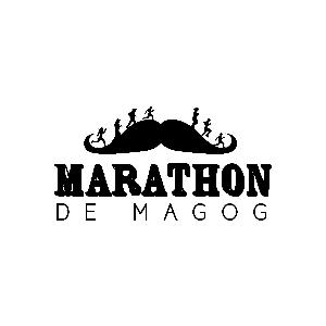 Courir en Estrie logo Marathon de Magog