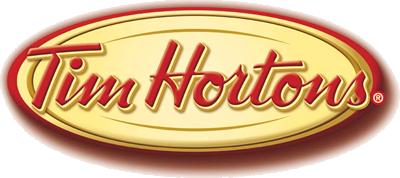 Courir en Estrie logo commanditaires Tim Hortons