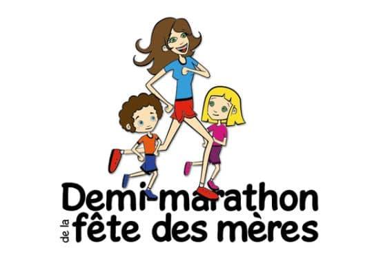 Logo Demi-marathon de la fête des mères